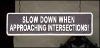 Slow-Down-Approacing-Intersections